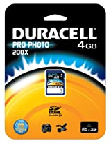 DANE ELECTRONICS 4 GB SDHC Flash Memory Card DU-SD1004G-C