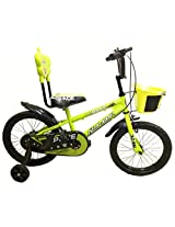 HLX_NMC KIDS BICYCLE 16 PACE GREEN/YELLOW