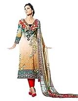 Surat Tex Multicolor Color Digital Print Cotton Semi-Stitched Salwar Suit-D317DL2404SA