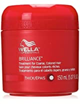 Wella Coarse Colored Hair Brilliance Treatment for Unisex, 5.07 Ounce