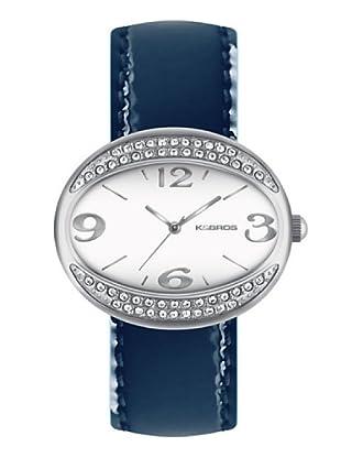 K&BROS 9156-2 / Reloj de Señora  con correa de piel azul