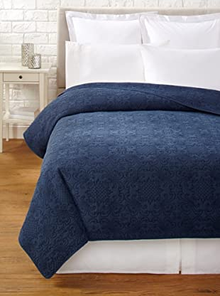Mélange Home Emma Stonewash Quilt (Indigo)