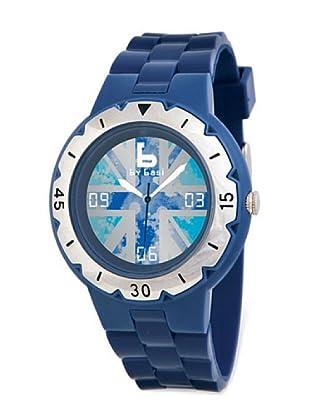 BY BASI A0991U04 - Reloj Unisex movi cuarzo correa policarbonato azul