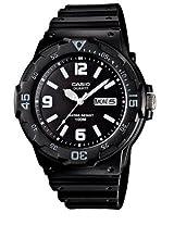 Casio Enticer Analog Black Dial Men's Watch - MRW-200H-1B2VDF (A594)