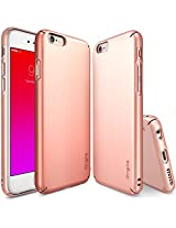 "iPhone 6S Case, Ringke SLIM **Essential Ultra Thin**[1 FREE HD Screen Protector][ROSE GOLD] Perfect Fit & Scratch-Resistant Dual Coating Lightweight Hard Case for Apple iPhone 6S 4.7"" (2015)"