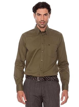 Pedro Del Hierro Camisa Lisa (Caqui)