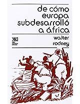 de Como Europa Subdesarrollo a Africa