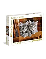 Kittens Jigsaw Puzzle, 500 pieces, Made in Italy
