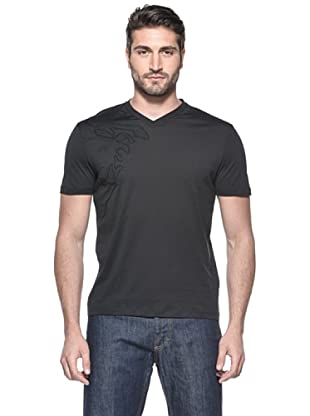 Versace Collection Camiseta Drummond (Negro)