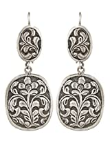 Haat4Art Oxidized Silver Dangle & Drop Earrings For Women