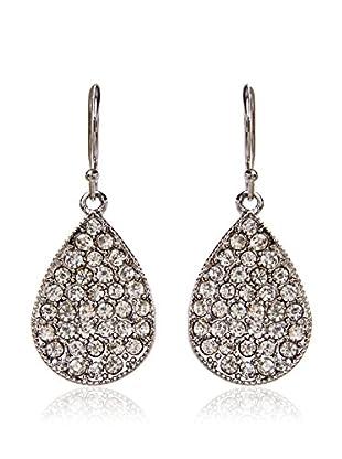 Amrita Singh Pendientes Janna Earring Silver/Clear