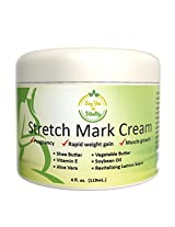 Best Moisturizing Stretch Mark Cream for Men/Women- For Removal, Prevention and Repair of Old/new Marks- Perfect for Before, During and After Pregnancy- Contains Vitamin E, Aloe Vera and Shea Butter