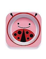 Skip Hop Zoo Melamine Bowl-Ladybug (Pink/Red)