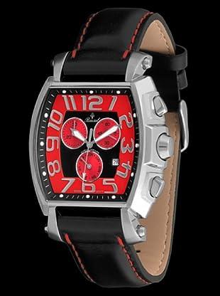 Bassel Reloj CR4021R de Acero negro / rojo
