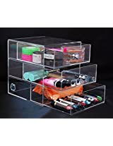 Acrylic Makeup Cosmetic & Jewelry Organizer #3D