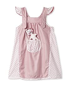 4EverPrincess Girl's Pip Dress (Pink)