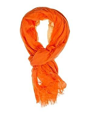 Cortefiel Foulard Liso (Naranja)