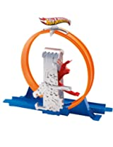 Hot Wheels Track Builder Deluxe Quick Kick Loop Stunt Set