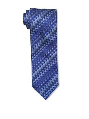 Missoni Men's Zigzag Tie, Blue