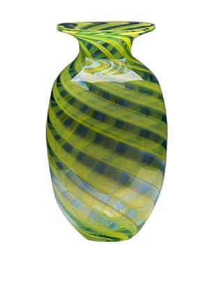 Dynasty Glass Firenze Collection - Vase - Marina Blue