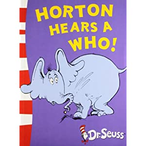 Horton Hears a Wh: Yellow Back Book