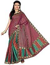 Aadarshini Women's Raw Silk Saree (110000000243)
