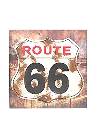 CO.IMPORT Wandbild Route 66
