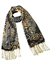Dahlia Women's Merino Wool Blend Scarf - Fashion Accessories