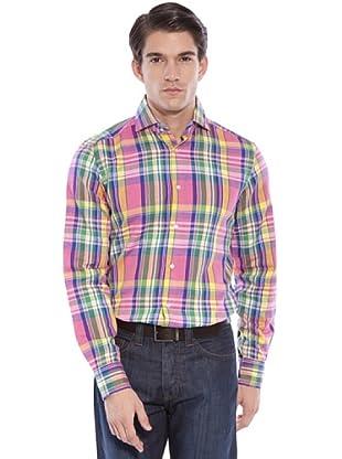 Hackett Camicia Quadri (Rosa/Multicolore)