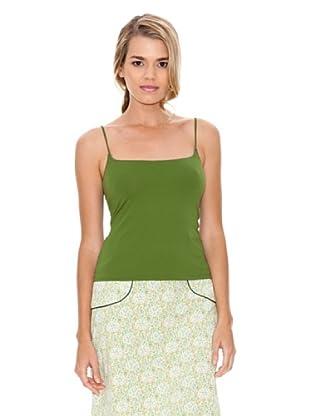 Monoplaza Camiseta Top (Verde)
