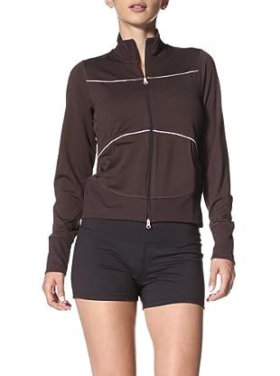 New Balance Yoga Women's Cropped Jacket (Coffee)