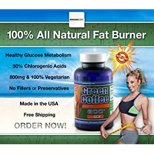 Lkr Green Coffee Bean Extract 800 With Gca Natural Weight Loss Supplement, 60 Veggie Capsules
