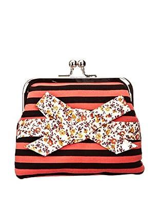 Louche Bags Monedero Bags Womens Viola Purse (Coral)