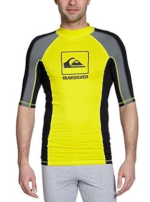 Quiksilver Camiseta Lycra CORPO (Amarillo)