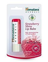 Himalaya Herbals Strawberry Shine Lip Balm, 4.5g