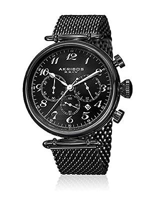Akribos XXIV Reloj de cuarzo Man AK627BK 45 mm