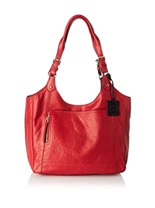 OH by Joy Gryson Unzipped Front Pocket Shopper (Red)