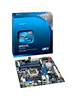Intel DH55TC LGA1156 H55 Chipet Boxed Motherboard (UATX Box, DDR3-1333 upto 16GB , 1 PCIE, HDMI, DVI, VGA, GBE) for 1st Gen