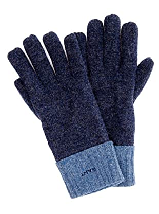 Gant Guantes Bicolor (Azul)