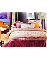 EMPORIO BRANDED BEDSHEET 100% COTTON WITH PILLOW COVERS,HERMES BRAND