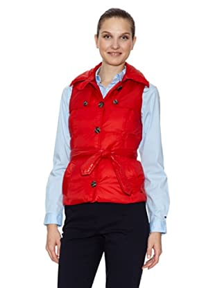 Tommy Hilfiger Chaleco Marie Quilted (Rojo)