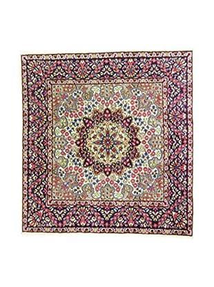 Eden Teppich   Kerman 190X208 mehrfarbig