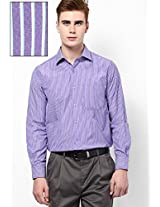 Purple Formal Shirt Peter England