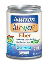 Nutren Junior with Fiber Nutritional Supplement ( NUTREN JR, W/FIBER, VANILLA, 250 ML, CAN ) 24 Each / Case