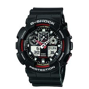 G-Shock Analog-Digital Black Dial Men's Watch - GA-100-1A4DR (G272)