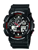 G-Shock Analog-Digital Black Dial Men's Watch - GA-100-1A4DR (G272)