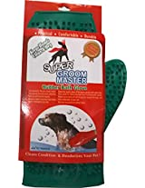 Rubber Bath Glove for Dogs / Green Color