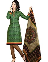 atisundar classy Green Traditional Cotton Printed Salwar Suit- 4359_39_6038