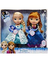 Frozen Snow Glow Anna And Elsa Dolls