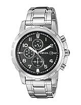 Fossil Analog FS4542 Black Dial Men's Watch